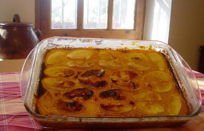 Como hacer un pudding de manzana escuela barcelona for Como aser un criadero de mojarras