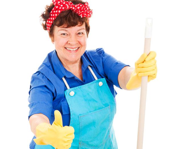 Limpiando imagui - Trabajo limpiando casas ...