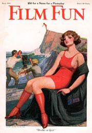 """Enoch Bolles. Portada """"Film Fun"""" en 1923."""