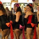Fotos clase Burlesque en Festes de la Mercè (Barcelona) 21.9.14