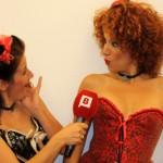 La TV en la clase de Burlesque!!! (BTV, Connexió Barcelona)
