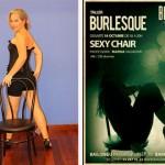 Fotos clase Sexy Chair. Burlesque Barcelona 18.10.14