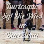 Fotos Taller Burlesque con Sgt Die Wies. Barcelona 15.11.14