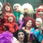 Actuación Burlesque Girls en Fizz Barcelona (29.11.14)