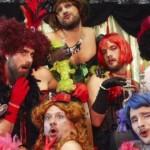 Clase de Burlesque para Postal de Navidad de la Empresa de Publicidad Brunet