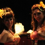Actuaciónes Burlesque en Fira Modernista Terrassa 2015